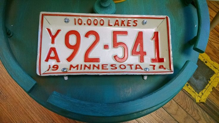 200 Best Images About License This Uses For An Old Plate