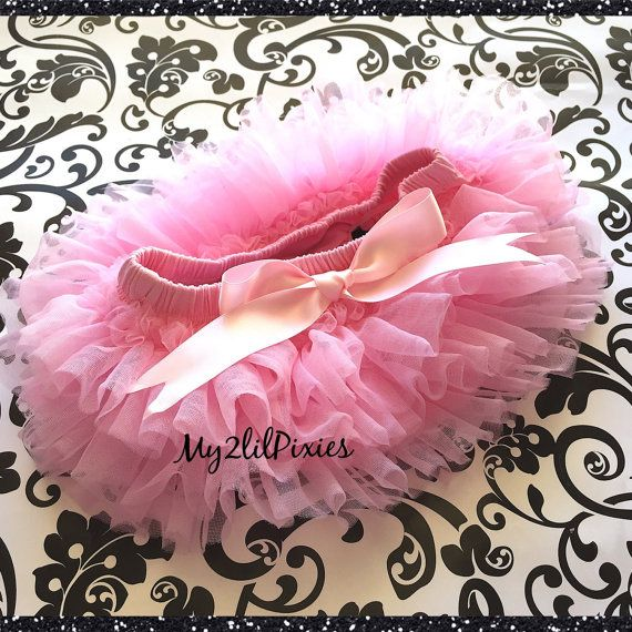 Sale PINK TUTU BLOOMER ruffles all the way by my2lilpixies on Etsy