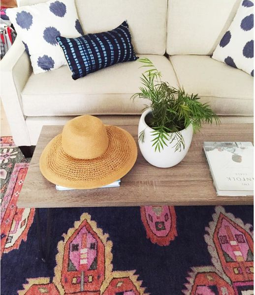 A stunningantique-inspired Persian rug created in all our favorite hues. It is as luxurious underfoot as it is stylish. Dress it up with coordinating pillows
