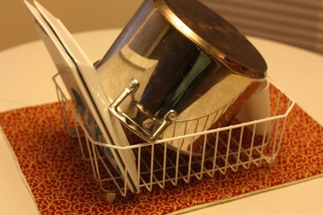 "Handmade/hand sewn dish drying rack  mats    Frugal by Choice, Cheap by Necessity: Kicking off the ""Homemade Holidays"" season - dish mats"