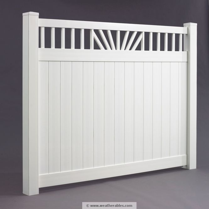 1000 Ideas About Vinyl Privacy Fence On Pinterest