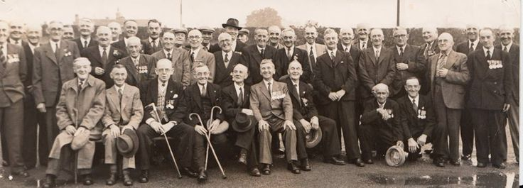 First World War Veterans Welshpool Comrade likely from 7 RWF.