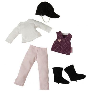 Corolle ® - Poupées Mannequins, Tenue d'équitation pour poupée Les Chéries (W93840)