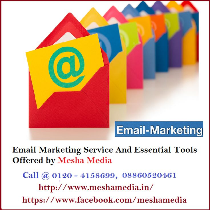 There are so many ways to promote your services through email marketing service. We offering Email Marketing Service and Essential Tools that will provide you business lead.