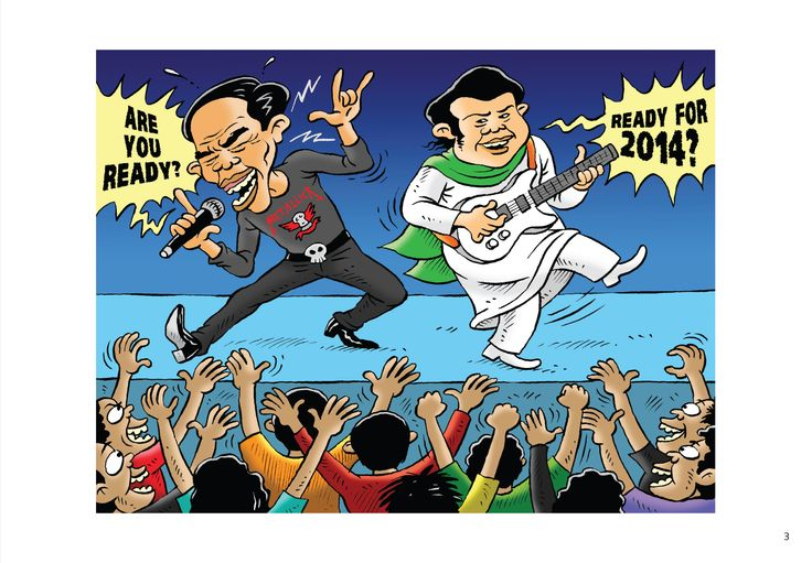 "Kartun Benny Rachmadi, Buku ""PR Buat Presiden"": Are You Ready?"