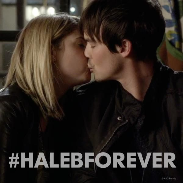 "S5 Ep7 ""The Silence of E. Lamb"" - #Haleb. #PLL #HalebForever YES MY PRAYERS HAVE BEEN ANSWERED!!!!!!"