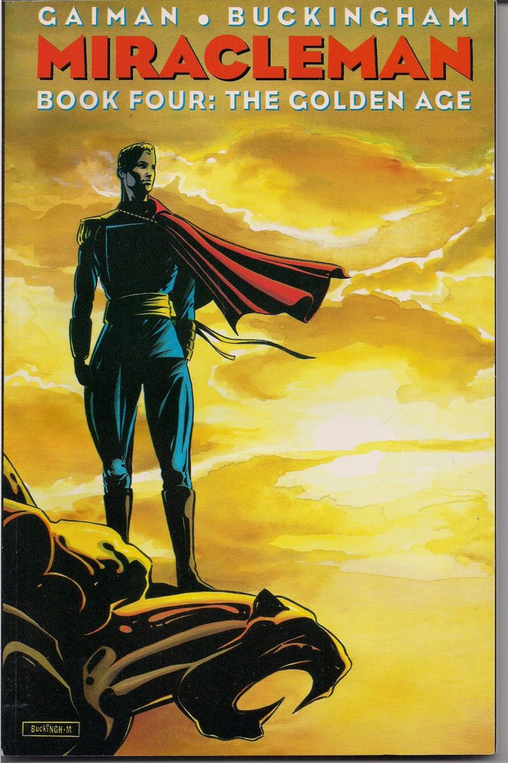 MIRACLEMAN, NEIL GAIMAN, Book Four,The Golden Age,Paperback,Collection,Dave McKean, Mark Buckingham, Sam Parsons