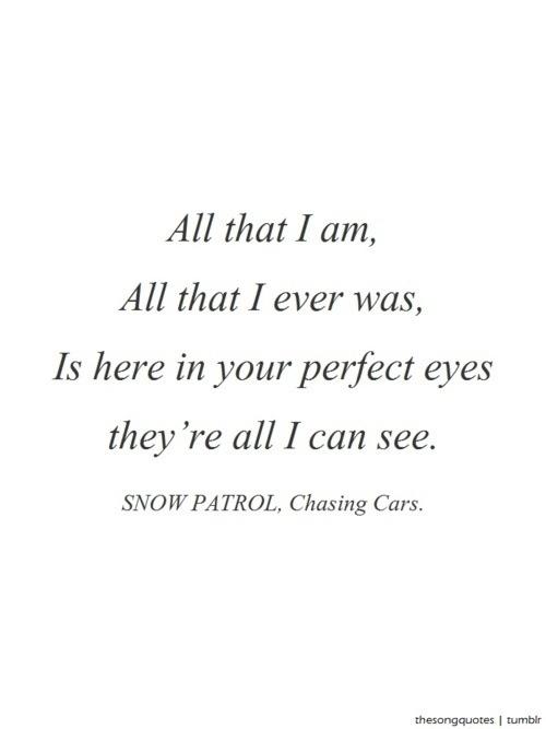 Snow patrol i ll never let go lyrics