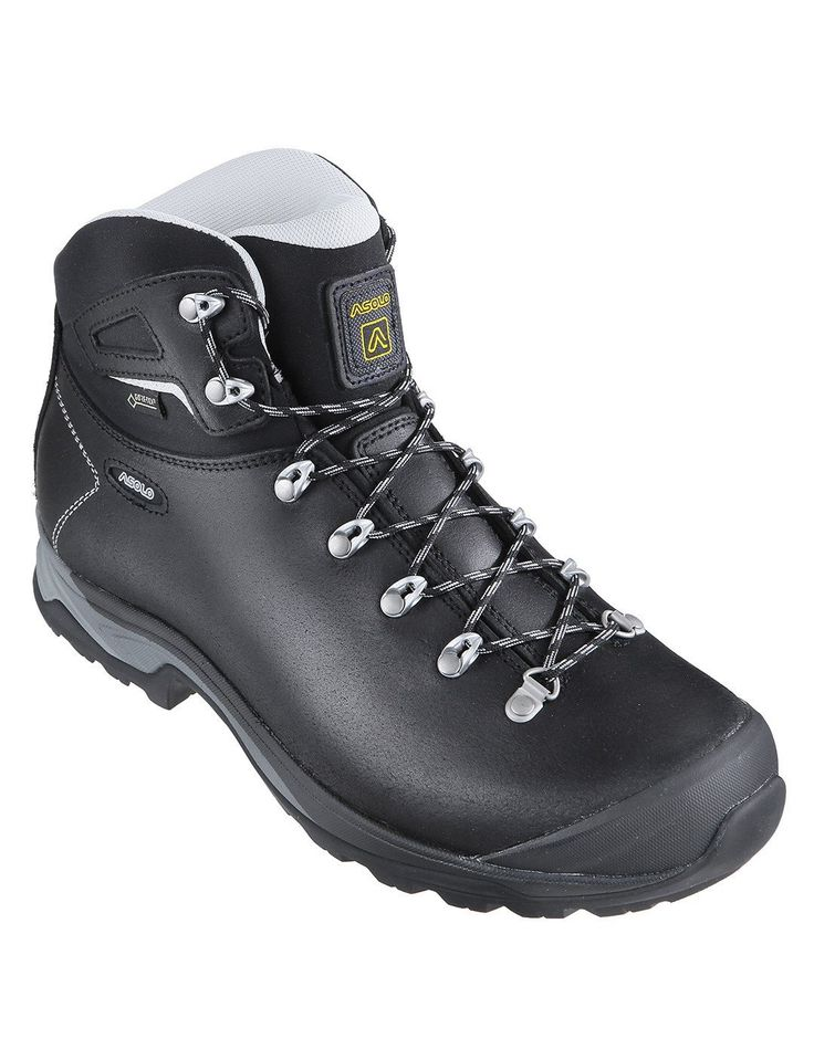 Mens Thyrus Mid GTX Walking Boot - Black - UK Shoe Size 8 Black: The Mens Thyrus Mid GTX Walking Boot is a fully waterproof… #OutdoorGearUK