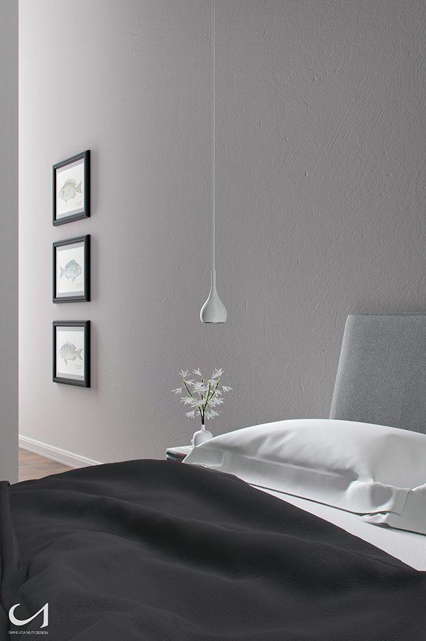 Inspired Bedroom by Gianluca Muti, via Behance