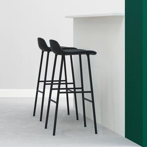 Form barstol hög - Form barstol hög - grå, ekben
