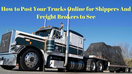 17 best best free load boards images on pinterest boards for Can a motor carrier broker freight