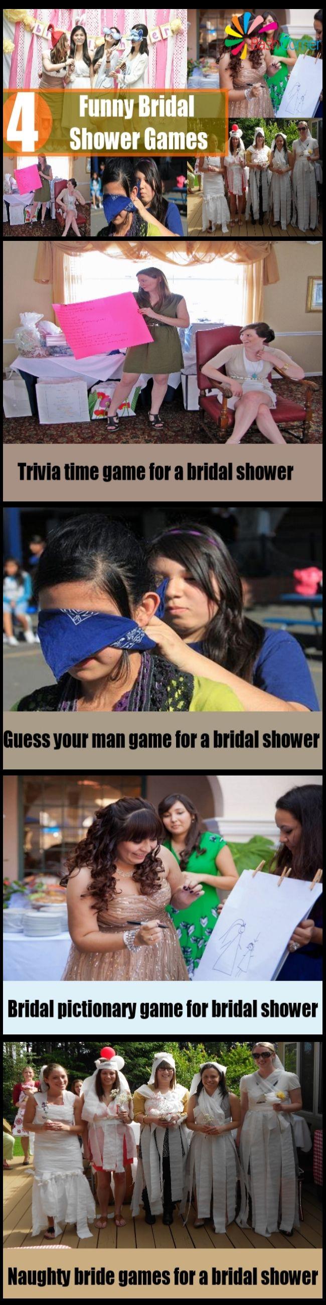 4 Funny Bridal Shower Games 86 best