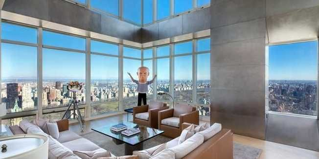 Steve Cohen Knocks The Price On His Jaw-Dropping NYC Penthouse To $98 Million [PHOTOS]