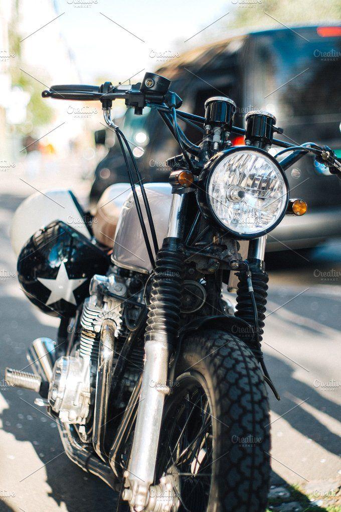 Motorbike by Borishots on @creativemarket