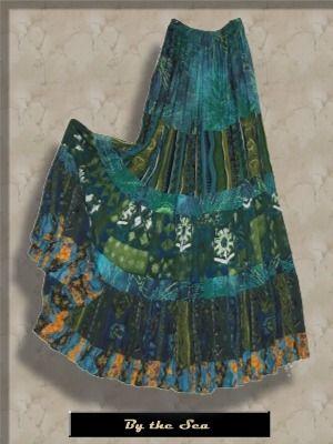 Gypsy Style Skirts Anna Konya Skirts Tiered Gypsy Skirts