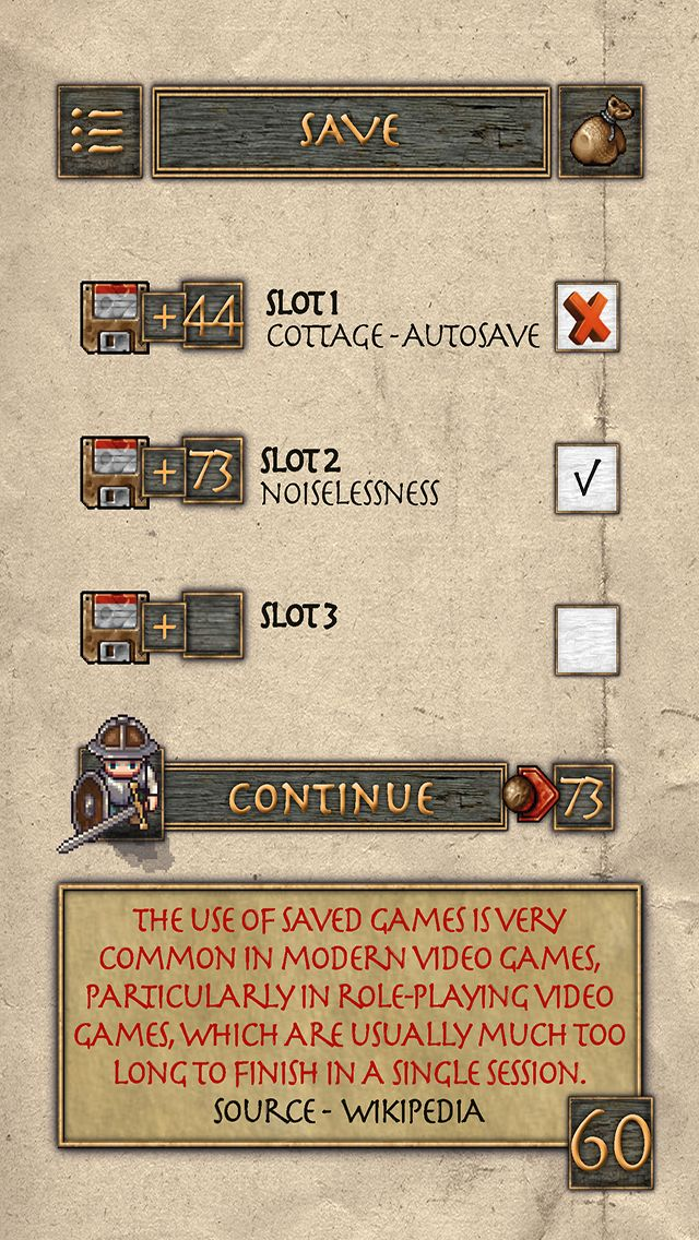 Save and Load in paper gamebook? Check it out!