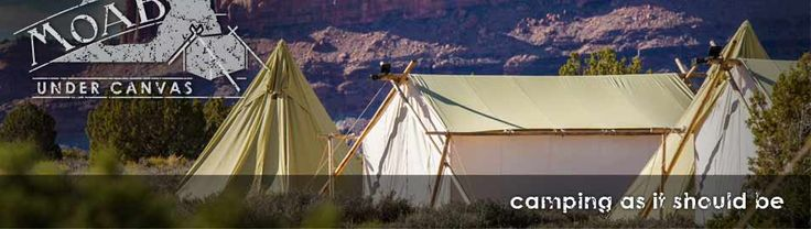 Glamping in Moab! Rates for kid friendly vacations, tipi holidays,  family reunion locations
