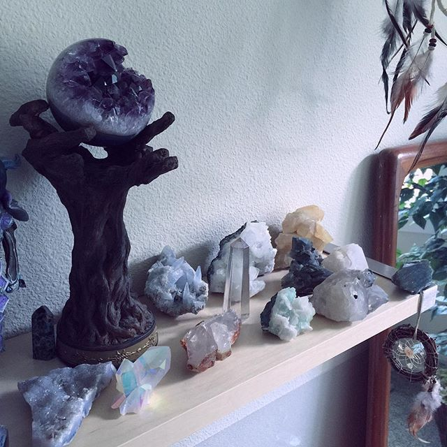 Leda's crystal collection sooo pretty!!!! :)
