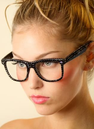 swarovski nerd glasses
