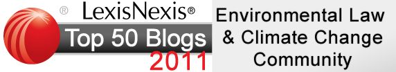 LexisNexis® Legal News Room- Top 50 Blogs for Environmental Law and Climate Change