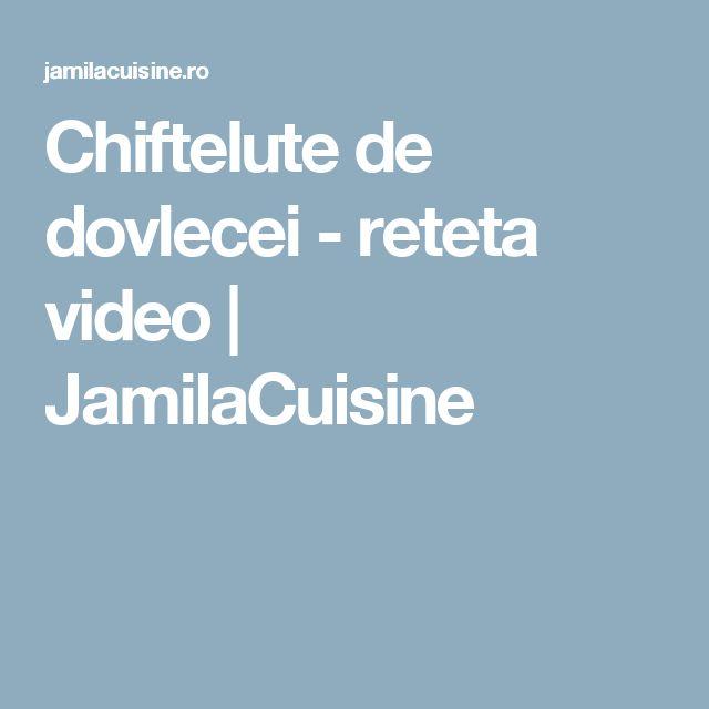 Chiftelute de dovlecei - reteta video | JamilaCuisine