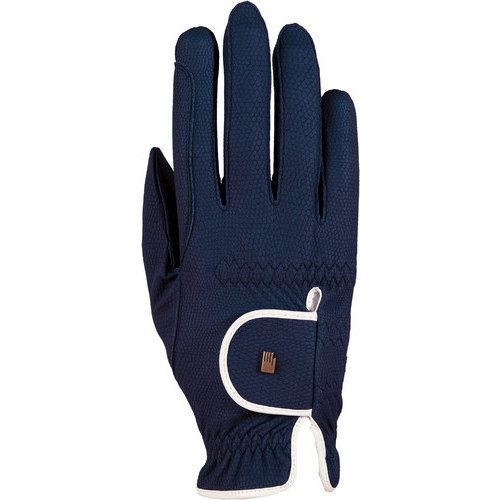 Roeckl® Chester Riding Glove - Navy & White