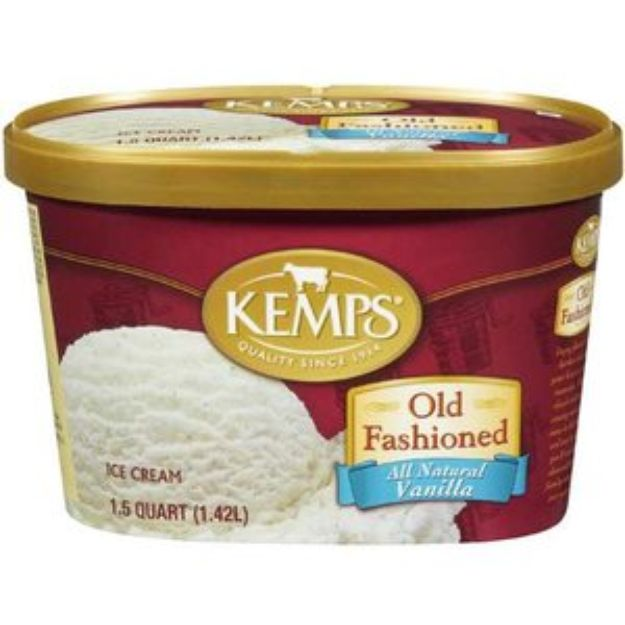 I'm learning all about Kemps Ice Cream Old Fashioned All Natural Vanilla at @Influenster!