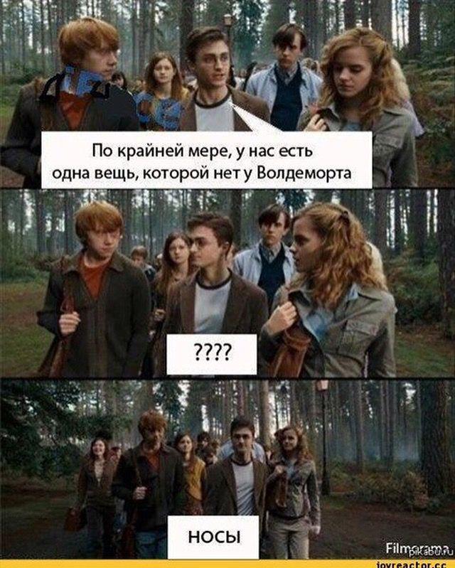 Смешные картинки про гарри поттера с надписями на русском