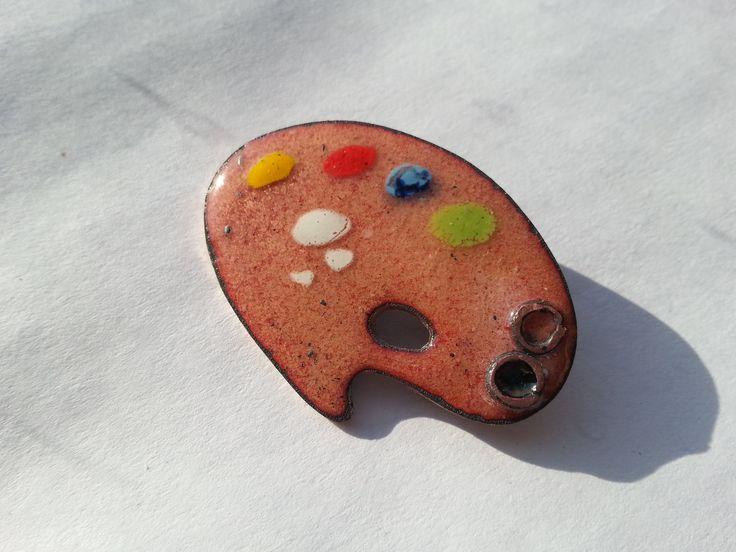 hot enamel jewelry pin
