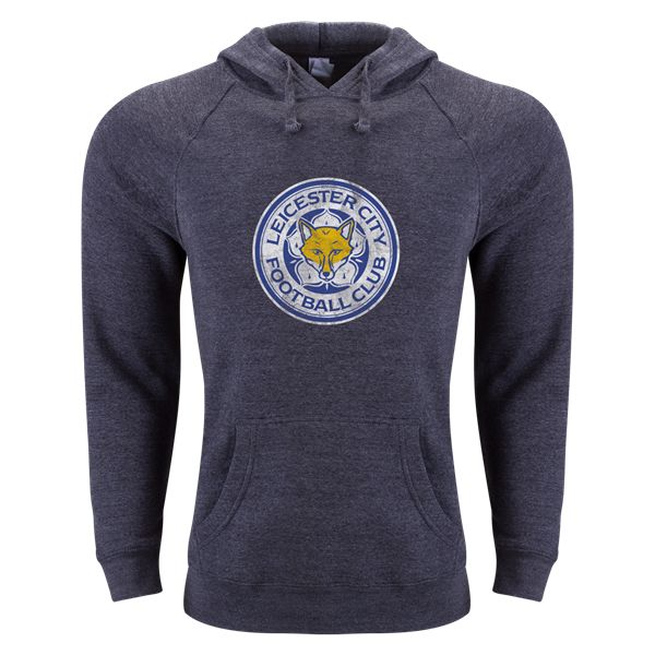 Leicester City FC Aged Crest Hoody