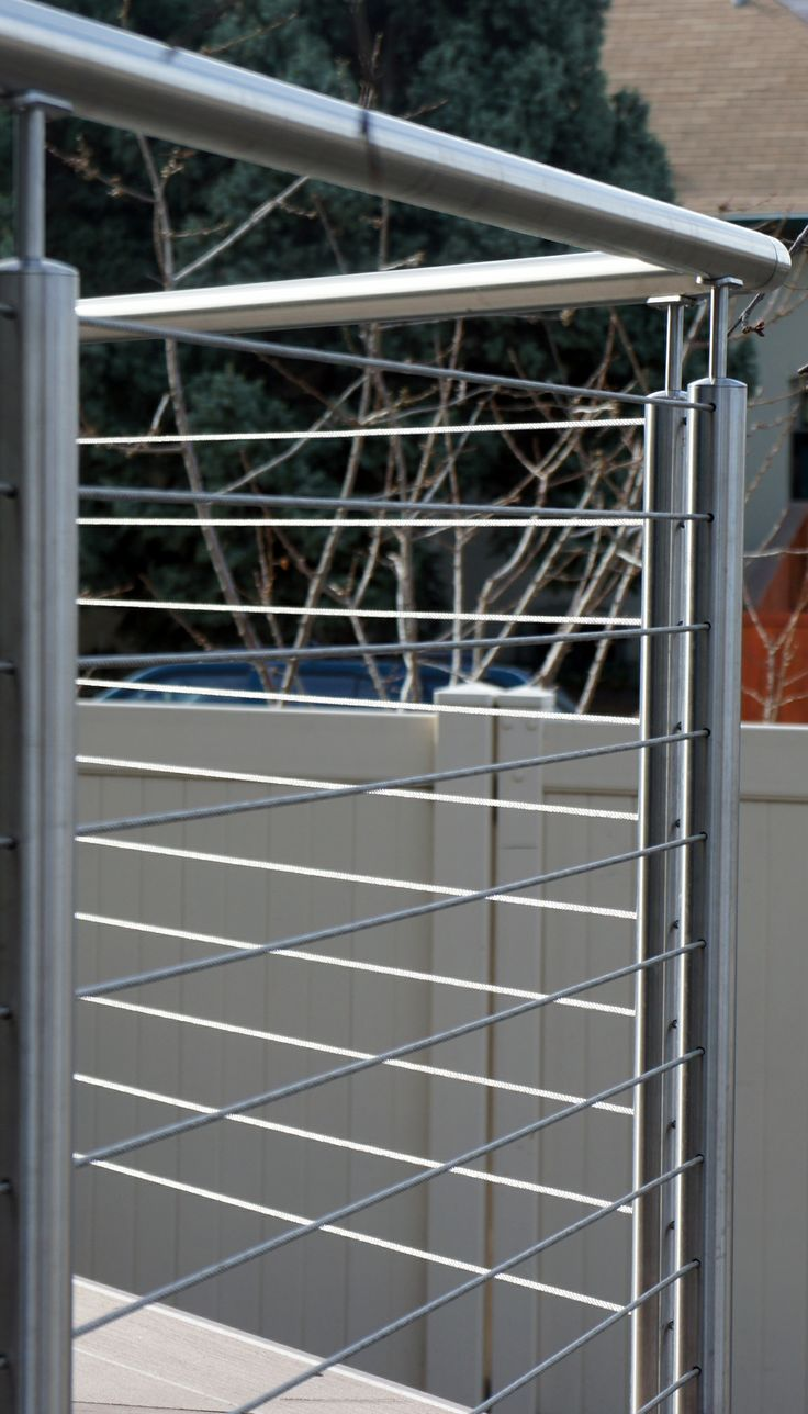 21 besten Stainless Steel Cable Railing Bilder auf Pinterest ...