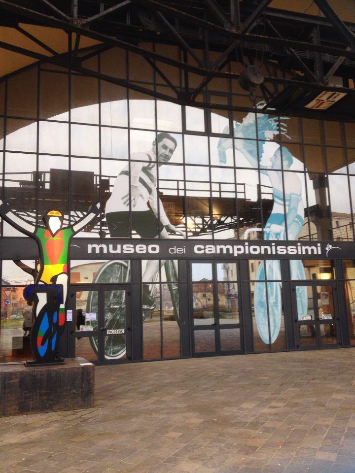 Il museo dedicato ai grandi campioni del ciclismo a Novi Ligure
