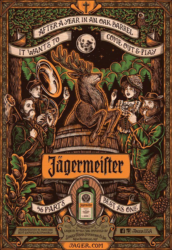 Jägermeister - 56 Parts