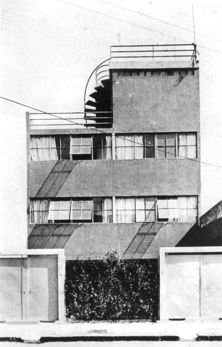 264 best modern architecture 1930s images on pinterest for Architecture 1930