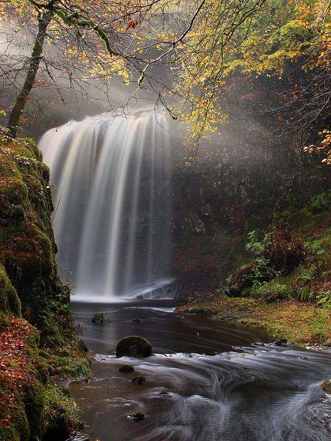 Dalcairney Falls, Dalmellington, Ayrshire #falls #scotland