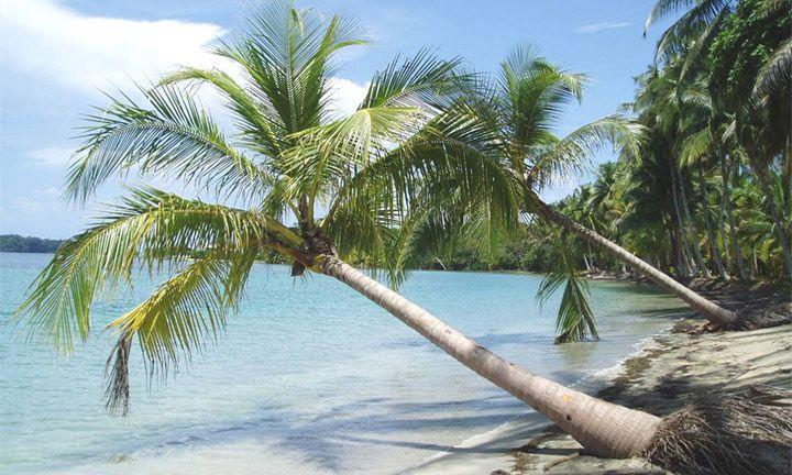 Playa Blanca Isla Barú. Caratagena de Indias