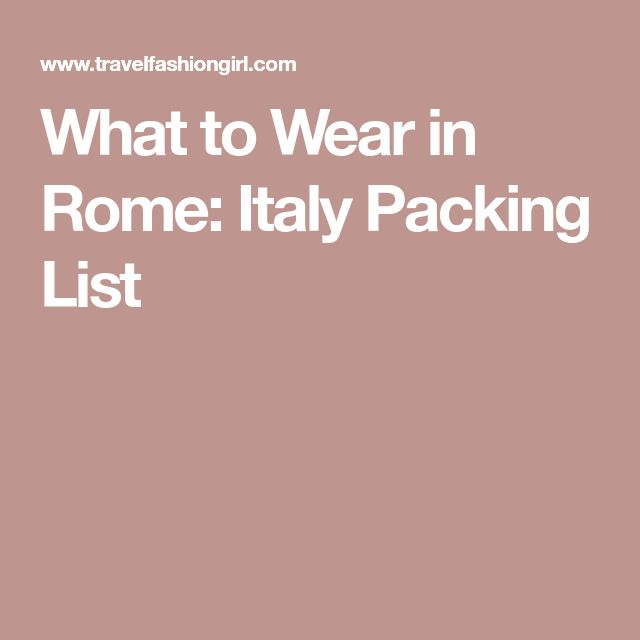 The 25+ best Italy packing list ideas on Pinterest Packing list - packing list