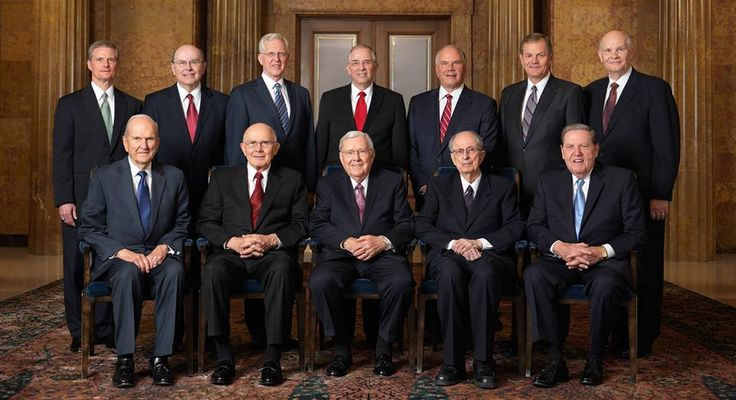 Learn more about the Quorum of the Twelve Apostles http://lds.org/church/leaders/quorum-of-the-twelve-apostles (of the Church of Jesus Christ http://lds.org/topics/church-organization/the-church-of-jesus-christ on earth today), the Church's second-highest presiding body. Its members serve under the direction of the First Presidency http://lds.org/church/leaders/first-presidency, a governing unit that includes the president and two counselors.