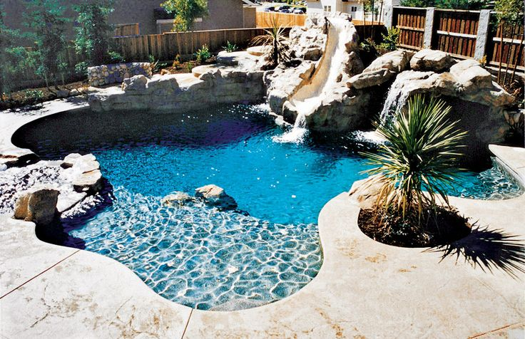 Dream Pools With Slide