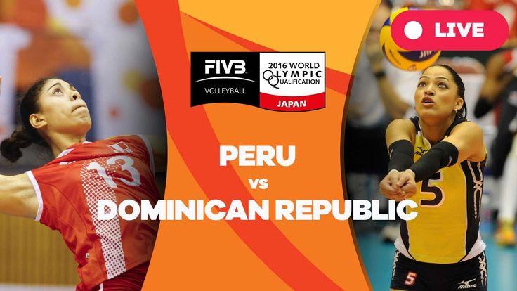 Peru v Dominican Republic - 2016 Women's World Olympic Qualification Tou...