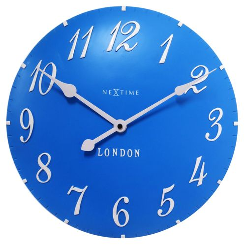 Shop For NeXtime London Blue Wall Clock From Our Retro Home Décor  Accessories. Vintage Clocks Donu0027t Come Any Cooler Than This!