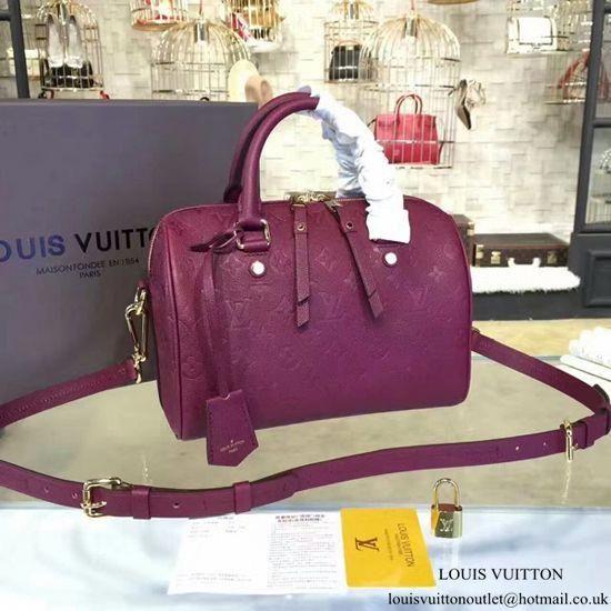54bdedb1b4be Louis Vuitton M40764 Speedy 25 Tote Bag Monogram Empreinte Leather   Louisvuittonhandbags