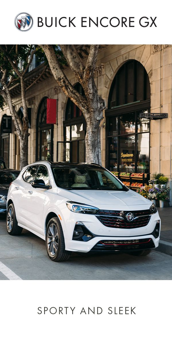 Set A New Trend In The First Ever Encore Gx Buick Encore Buick Small Suv