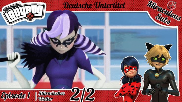 Miraculous Ladybug | Episode 1 (2/2) | German Sub