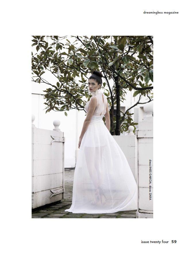 "Edito ""Paris in Secret"" pour le Dreamingless magazine:  Designer: Inês de Luca Photographer: Amelia H. Fashion stylist:  Dara Stantchev Model: Charlotte Richard"