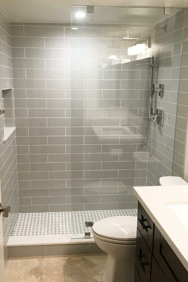 59+ New Trend and Best Tile Bathroom Designs in 2020 ...