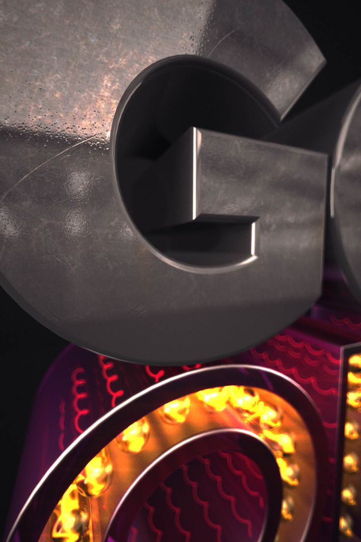 3D LETTERING, CINEMA 4D