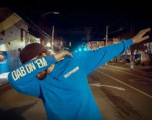 """OFFICIAL PANTHERS """"Dab On 'Em"""" T Shirt"""