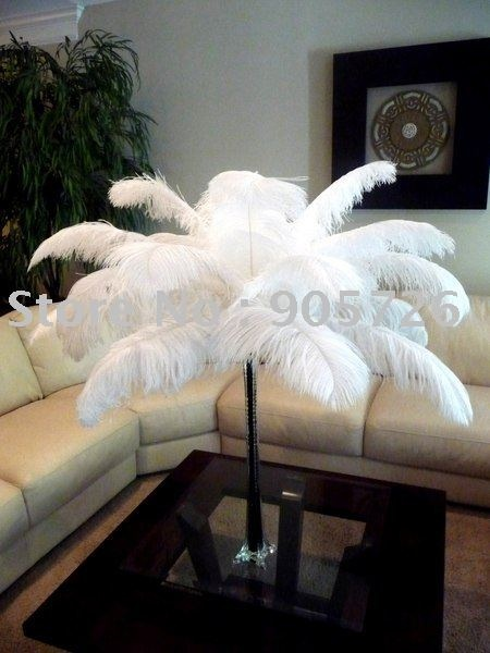 Best images about ostrich feather centerpiece on